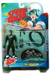 Speed Racer: The Assassin action figure (Resaurus/1999) New