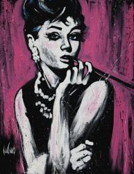 Audrey Hepburn poster: Fabulous by David Garibaldi (24'' X 36'')
