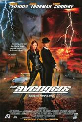 The Avengers movie poster [Ralph Fiennes, Uma Thurman & Sean Connery]