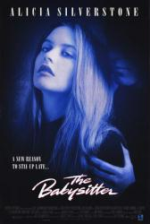 The Babysitter movie poster (1995) [Alicia Silverstone] video poster