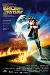 Back to the Future movie poster [Michael J. Fox] 24'' X 36'' poster
