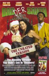 Bad Santa movie poster [Billy Bob Thornton, Bernie Mac] 26x40 video