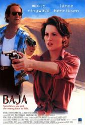 Baja movie poster [Molly Ringwald, Lance Henriksen] 27x40 video poster