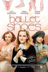 Ballet Shoes movie poster [Emma Watson, Lucy Boynton & Yasmin Paige]