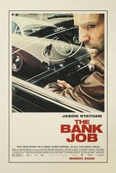 The Bank Job movie poster [Jason Statham] original 27 X 40