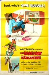 The Barefoot Executive movie poster (Disney) [Kurt Russell] 1971
