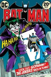 Batman poster: Joker's Back In Town comic book cover (24x36) DC
