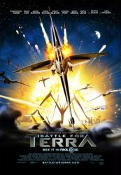 Battle For Terra movie poster (2007) original 27x40 one-sheet