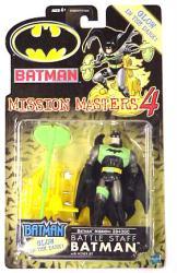 Batman Mission Masters 4: Battle Staff Batman figure (Hasbro/2002)