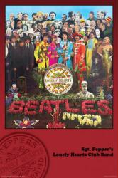 Beatles poster: Sgt Pepper's Lonely Hearts Club Band (24'' X 36'')