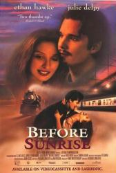 Before Sunrise movie poster [Ethan Hawke, Julie Delpy] 27x40