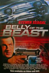 Belly of the Beast movie poster [Steven Seagal] 27x40