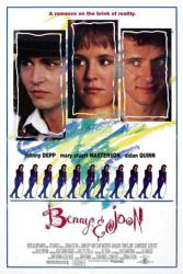Benny & Joon movie poster [Johnny Depp, Mary Stuart Masterson] 27x41