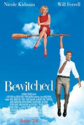 Bewitched movie poster [Nicole Kidman, Will Ferrell] 27x40