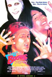 Bill & Ted's Bogus Journey movie poster [Keanu Reeves] video