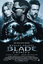 Blade: Trinity movie poster [Wesley Snipes/Ryan Reynolds/Jessica Biel]