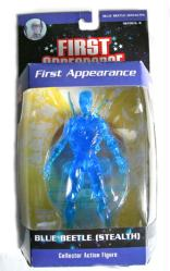 First Appearance: Blue Beetle [Stealth] action figure (DC Direct)