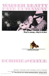 Bonnie and Clyde movie poster [Warren Beatty, Faye Dunaway] 27x40