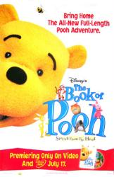 The Book of Pooh poster (Disney) video poster