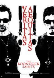 The Boondock Saints movie poster [Veritas Aequitas] 22 1/2'' X 34''
