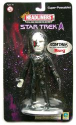 Star Trek [Movie Headliners] Borg Super-Poseable figure (Equity/2000)