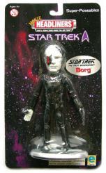Star Trek [Movie Headliners] Borg Super-Poseable figure (Equity/2000)