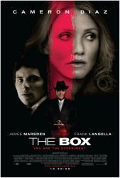 The Box movie poster [Cameron Diaz, James Marsden & Frank Langella]
