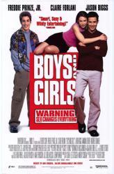 Boys and Girls poster [Freddie Prinze Jr./Claire Forlani/Jason Biggs]
