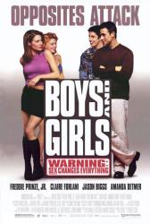 Boys and Girls poster [Freddie Prinze Jr./Jason Biggs/Claire Forlani]
