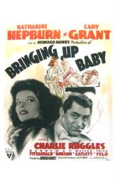 Bringing Up Baby movie poster [Katharine Hepburn, Cary Grant] 11x17