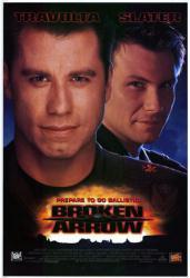 Broken Arrow movie poster [John Travolta/Christian Slater] John Woo