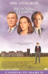 The Browning Version poster Albert Finney/Greta Scacchi/Matthew Modine
