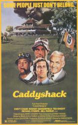 Caddyshack movie poster [Chevy Chase, Dangerfield, Bill Murray] 27x40