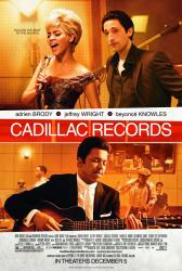 Cadillac Records poster [Beyonce Knowles/Adrien Brody/Jeffrey Wright]