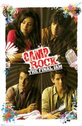 Camp Rock 2: The Final Jam movie poster [Jonas Brothers & Demi Lovato]