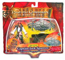 Pirates of the Caribbean At World's End: Captain Jack Sparrow figure