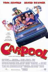 Carpool movie poster [Tom Arnold & Rachael Leigh Cook] one-sheet