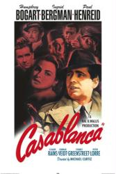 Casablanca movie poster [Humphrey Bogart/Ingrid Bergman] 24'' X 36''