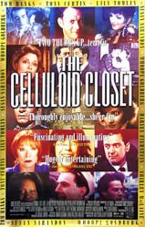 The Celluloid Closet movie poster [Tom Hanks, Rock Hudson, etc.]