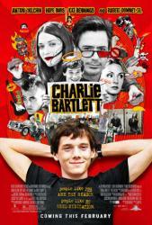 Charlie Bartlett movie poster /Anton Yelchin/Robert Downey Jr/Dennings