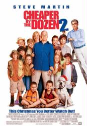 Cheaper By the Dozen 2 movie poster [Steve Martin, Bonnie Hunt] 27x40