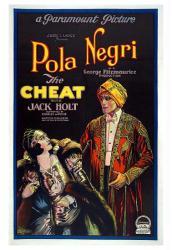 The Cheat movie poster (1923) [Pola Negri & Jack Holt] 18'' X 24''