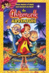The Chipmunk Adventure movie poster [The Chipmunks] video poster