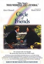 Circle of Friends [w/ Chris O'Donnell & Minnie Driver] (Video Movie Poster) VG