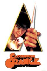 A Clockwork Orange movie poster [Malcolm McDowell] Kubrick 24'' X 36''