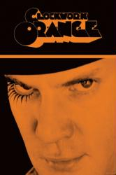 A Clockwork Orange movie poster [Malcolm McDowell] Stanley Kubrick