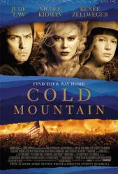 Cold Mountain movie poster [Jude Law, Nicole Kidman, Zellweger] 27x40