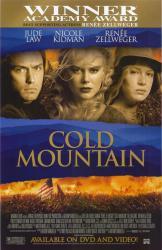 Cold Mountain movie poster [Jude Law, Nicole Kidman, Renee Zellweger]