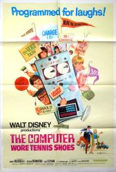 The Computer Wore Tennis Shoes movie poster [Kurt Russell] Walt Disney