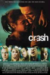Crash movie poster [Matt Dillon, Thandie Newton & Sandra Bullock]